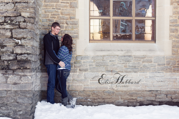 Kayla & Brent, Engagement, Couples Photography, Portrait Photography, On-Location Photography, Kumler Chapel, Elisa Hubbard Studios