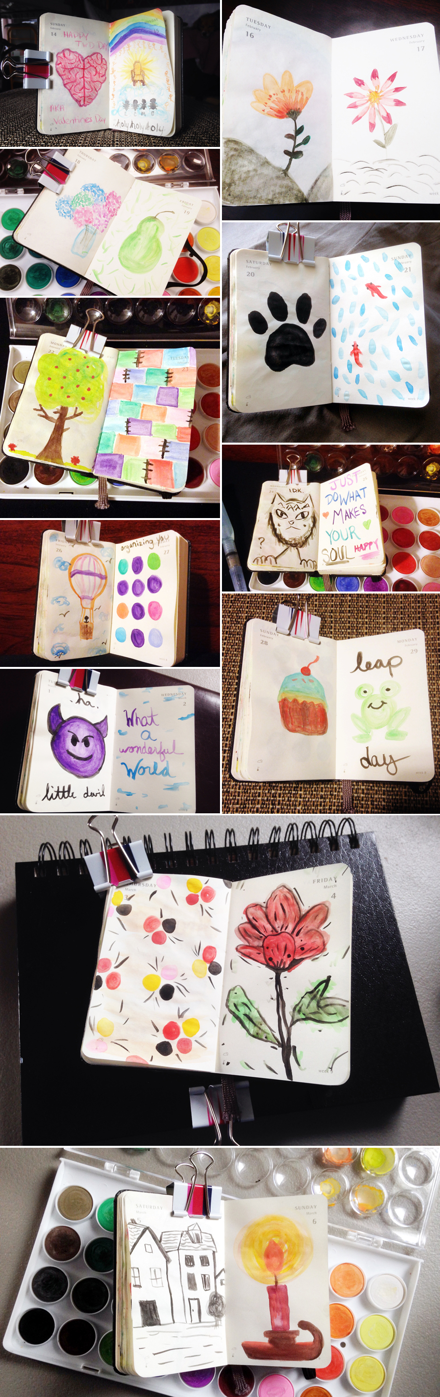 EHStudios - Make Art Every Day - Project 366 - Moleskine Planner