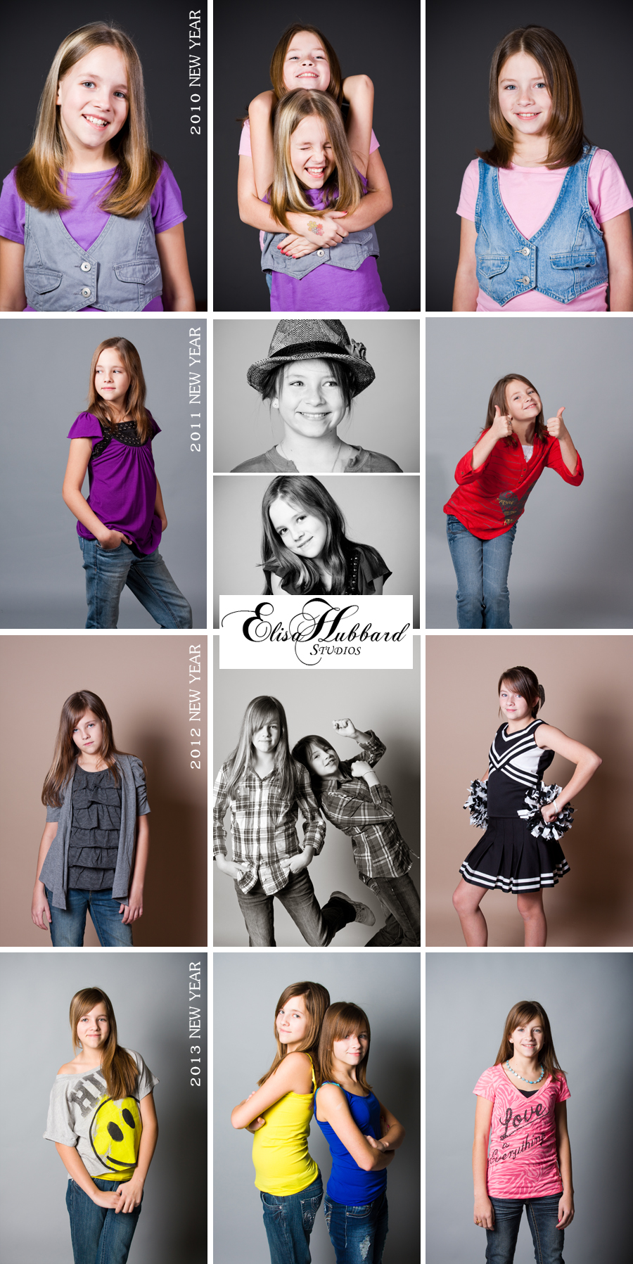 Elisa Hubbard Studios, Studio Photography, Teenager, Portrait Photography, Twins, Girls